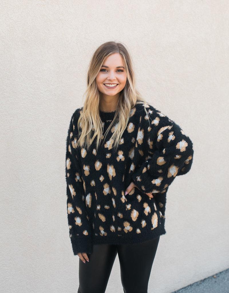 Animal Print Sweater