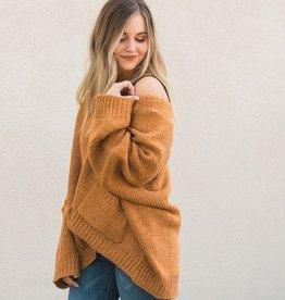 Boxy Sweater Cardigan