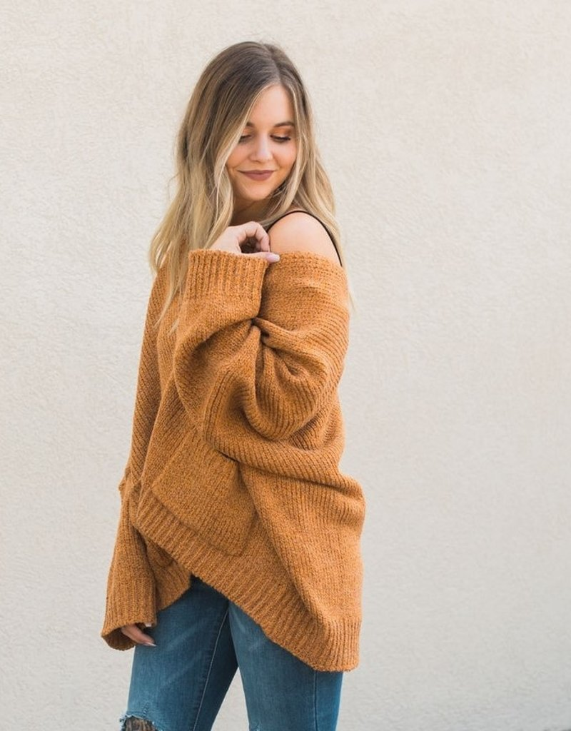 Boxy Sweater Cardigan