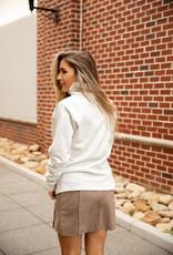 Button Neck Fleece Pullover
