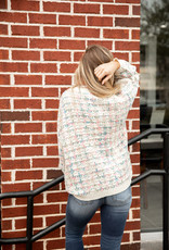 & Merci Pullover Sweater Cotton Candy