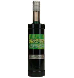 Vedrenne Creme de Menthe - Green Mint Liqueur