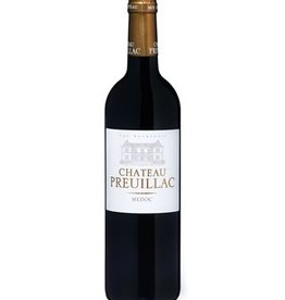 Bordeaux Chateau Preuillac 2015 Medoc