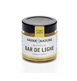 Groix Nature Line Caught Seabass Rillettes