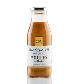 Groix Nature Mussels & Chorizo Soup