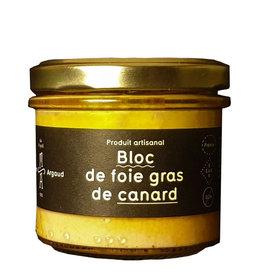 Maison Argaud Bloc de foie gras de canard 190 gr Bocal