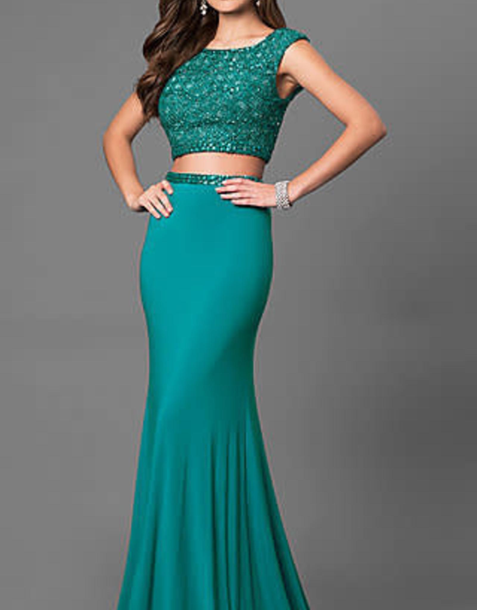 Sherri Hill Sherri Hill Emerald 0