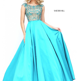 Sherri Hill Sherri Hill Turquoise 6