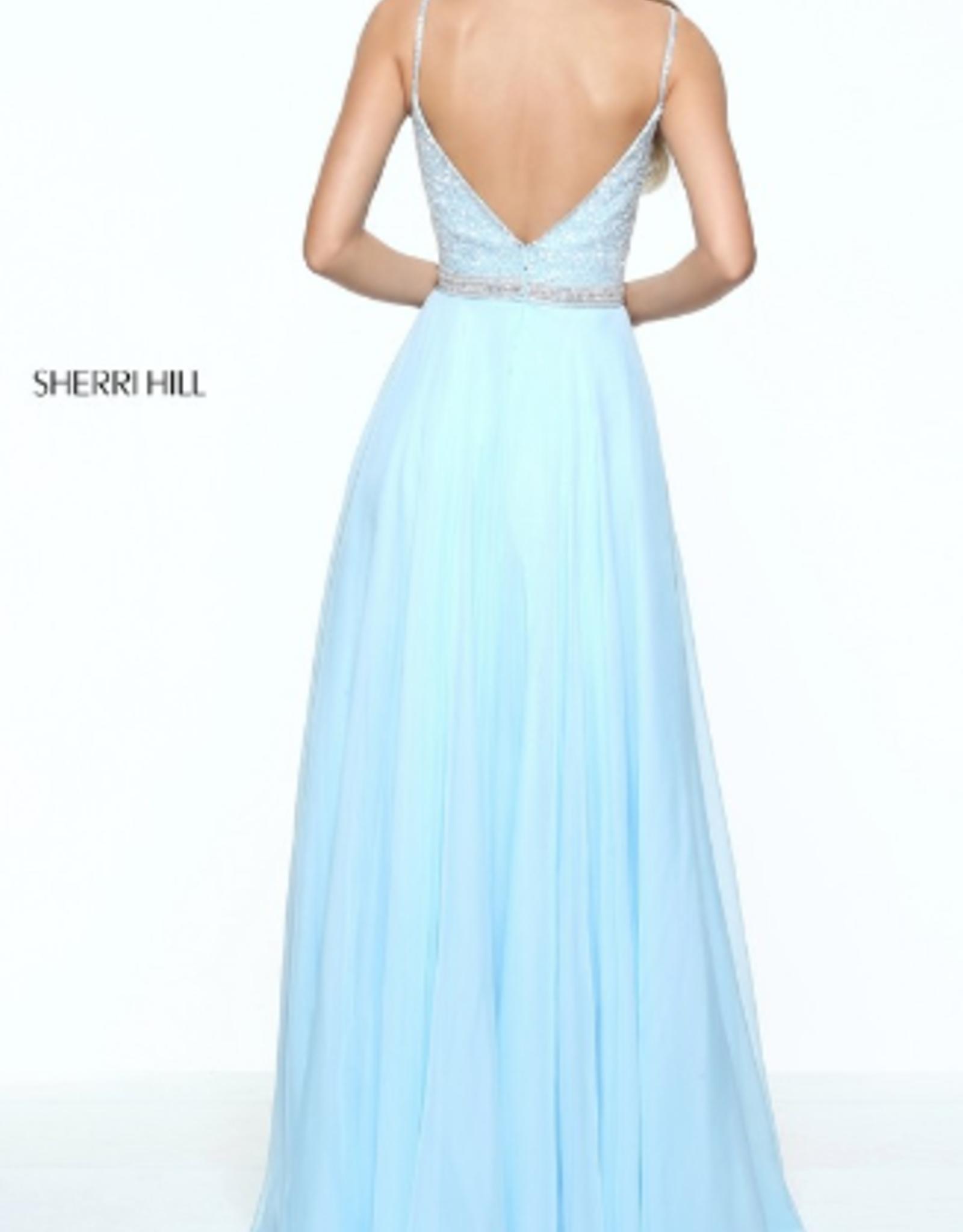 Sherri Hill Sherri Hill Light Blue 12