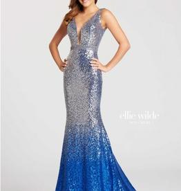 Ellie Wilde Silver/Royal 0