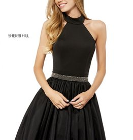Sherri Hill Sherri Hill Short Black/Ivory 4