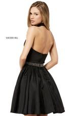 Sherri Hill Sherri Hill Short Black/Ivory 4