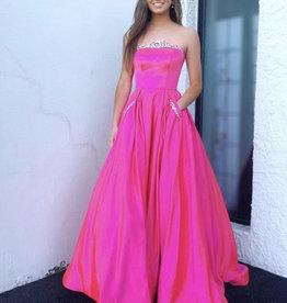 Sherri Hill Sherri Hill Bright Pink 2