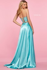 Sherri Hill SHERRI HILL LIGHT BLUE 4 (aqua pictured)