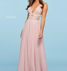 Sherri Hill Sherri Hill Light Pink 0