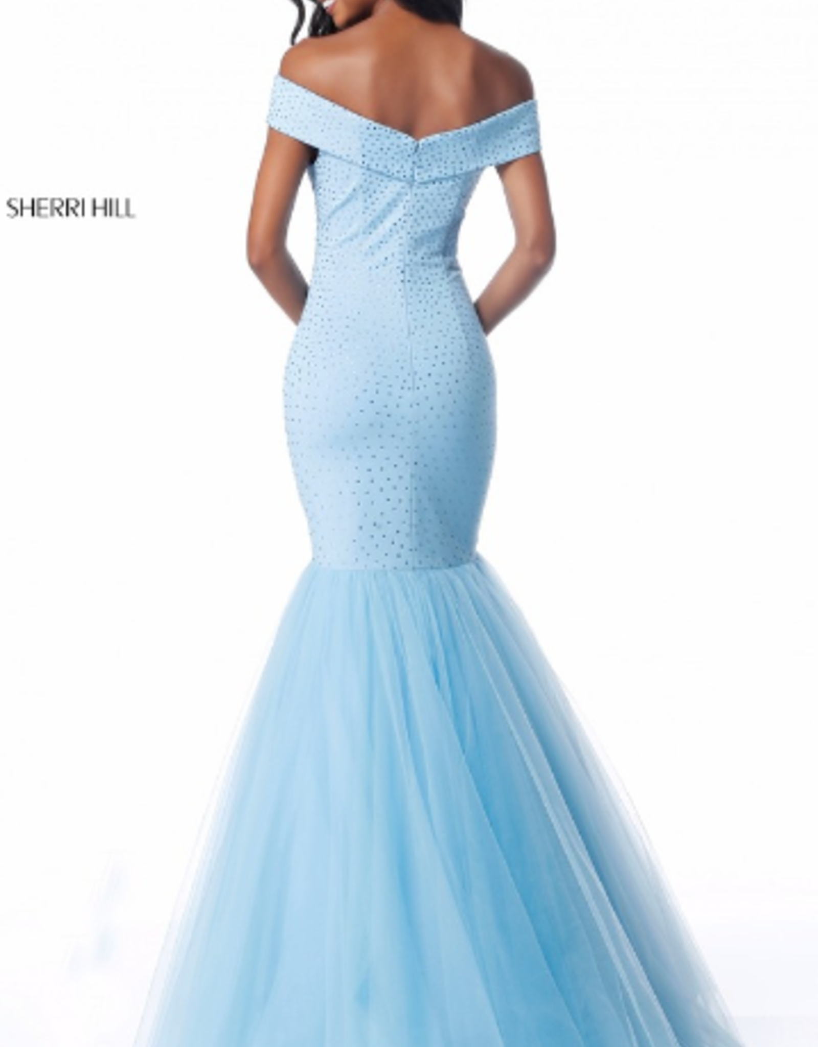 Sherri Hill sherri hill light blue 6