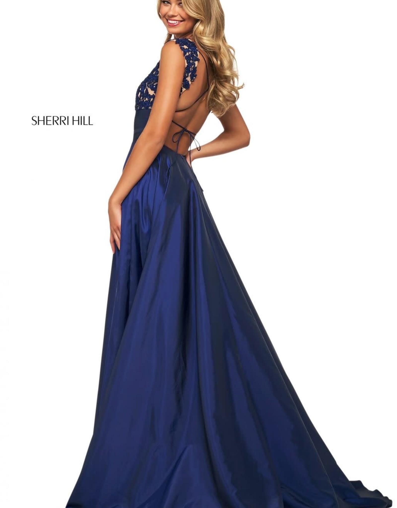 Sherri Hill Sherri Hill Navy 0