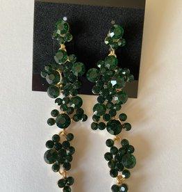 green/gold bubble dangle