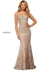 Sherri Hill Sherri Hill Rose Gold/Silver 10