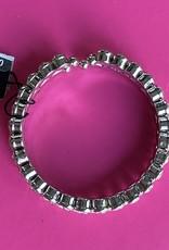 Jim Ball Jim Ball bracelet clear/silver RB22824099