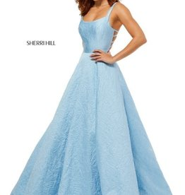 Sherri Hill Sherri Hill Light Blue 18