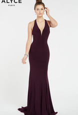 Alyce Paris Alyce Black Plum 4