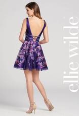 Mon Cherie ellie wilde dark purple/multi 4