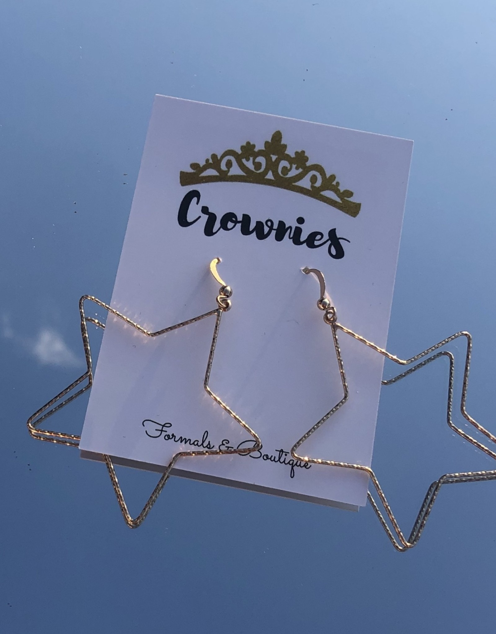 Wired Dangle Star (Gold)
