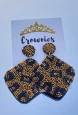 Leopard Diamond Earrings