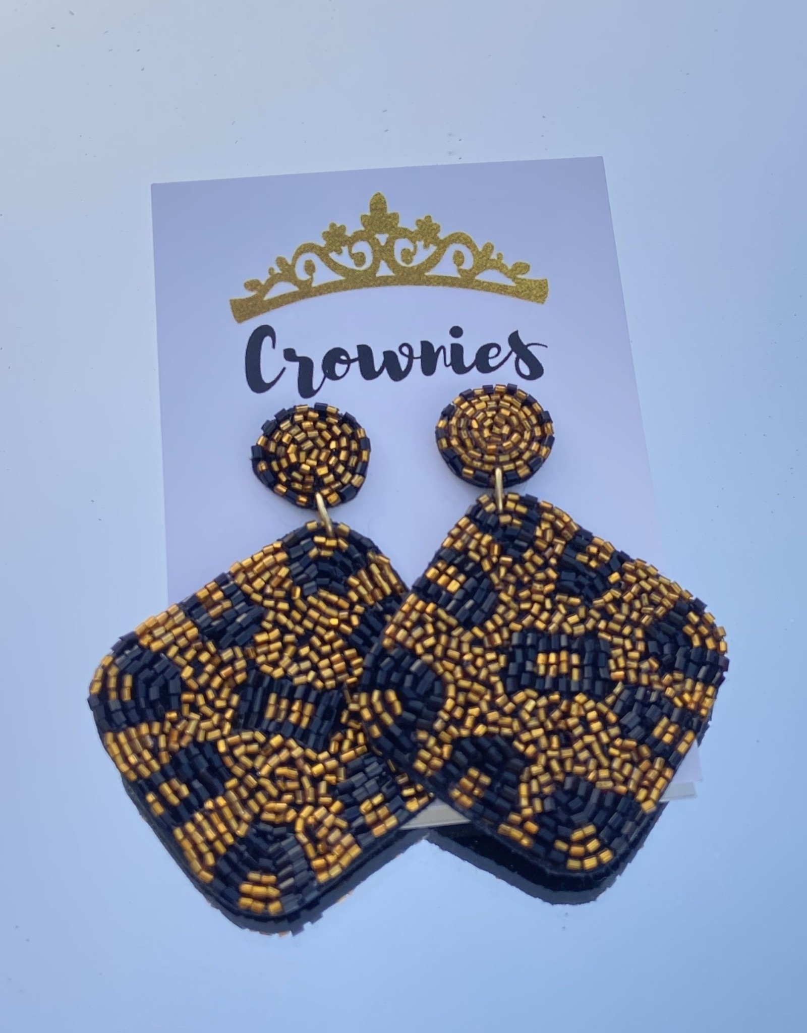 Leopard Diamond Earrings