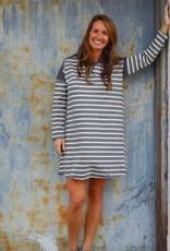 Around Town Striped Dress