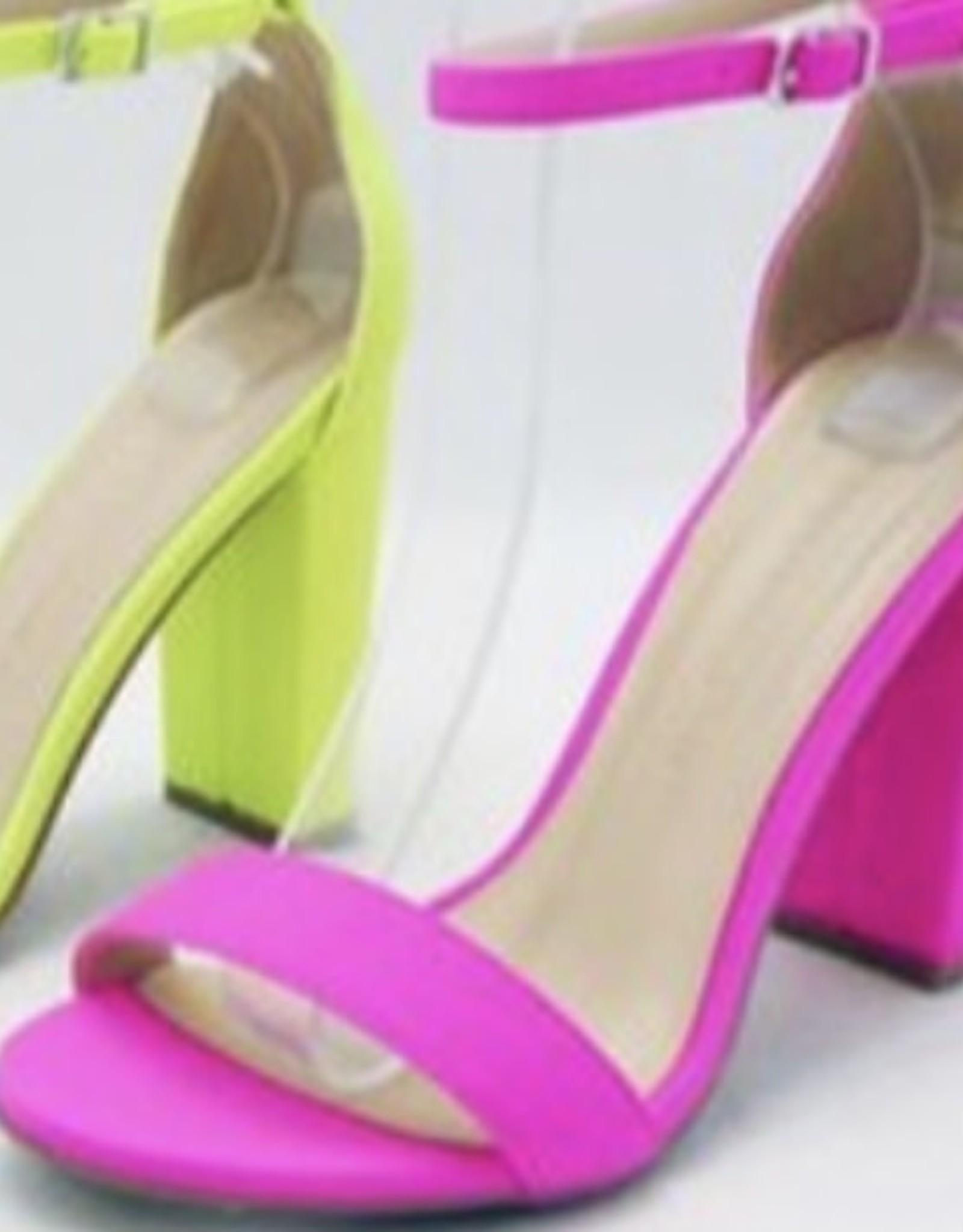 Neon of  Your Business Pink Heel