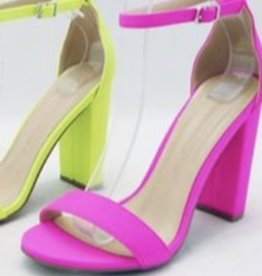 Neon of  Your Business Pink Heel