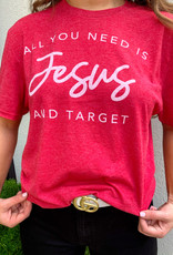Jesus and Target Tee