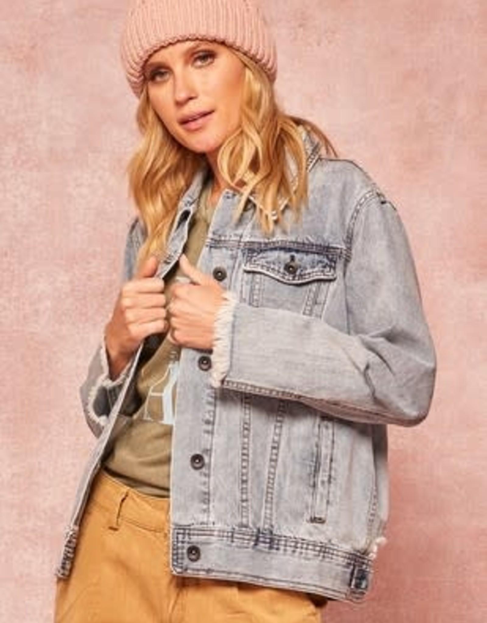 Sandy Distressed Jean Jacket