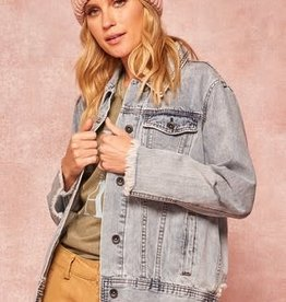 Sandy Distressed Jean Jacket
