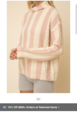 Angel Striped Sweater