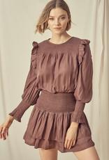 Truffle Smocked Dress