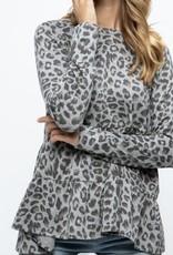 Joselyn Leopard Top