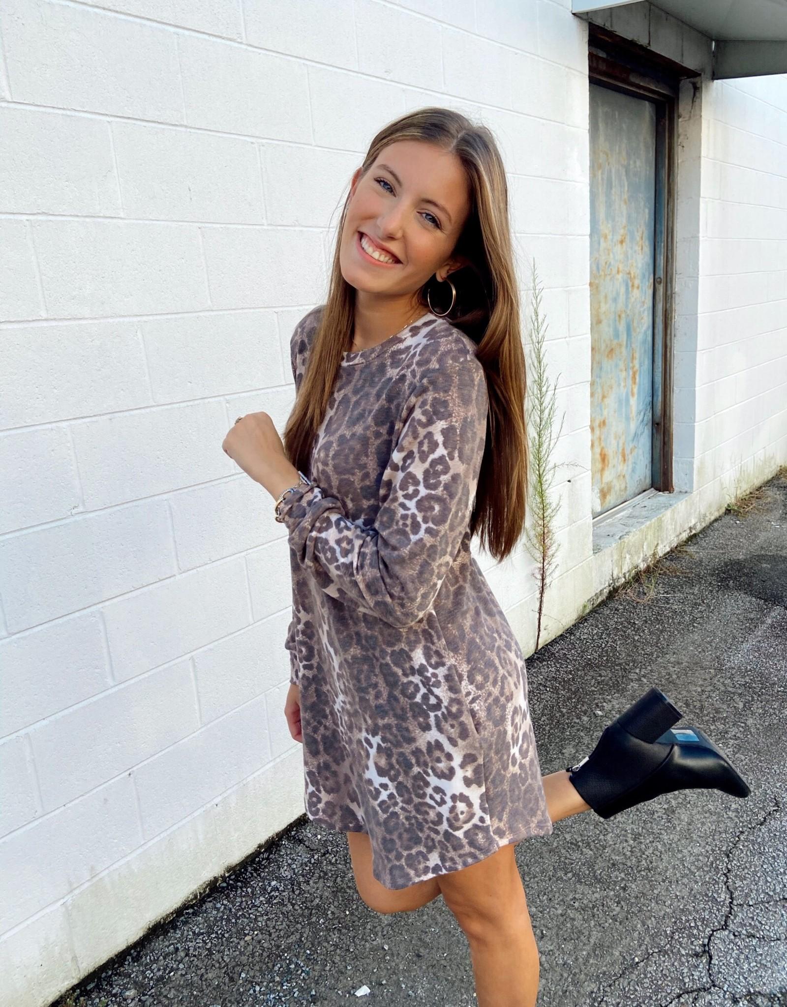 Leopard Lounge dress