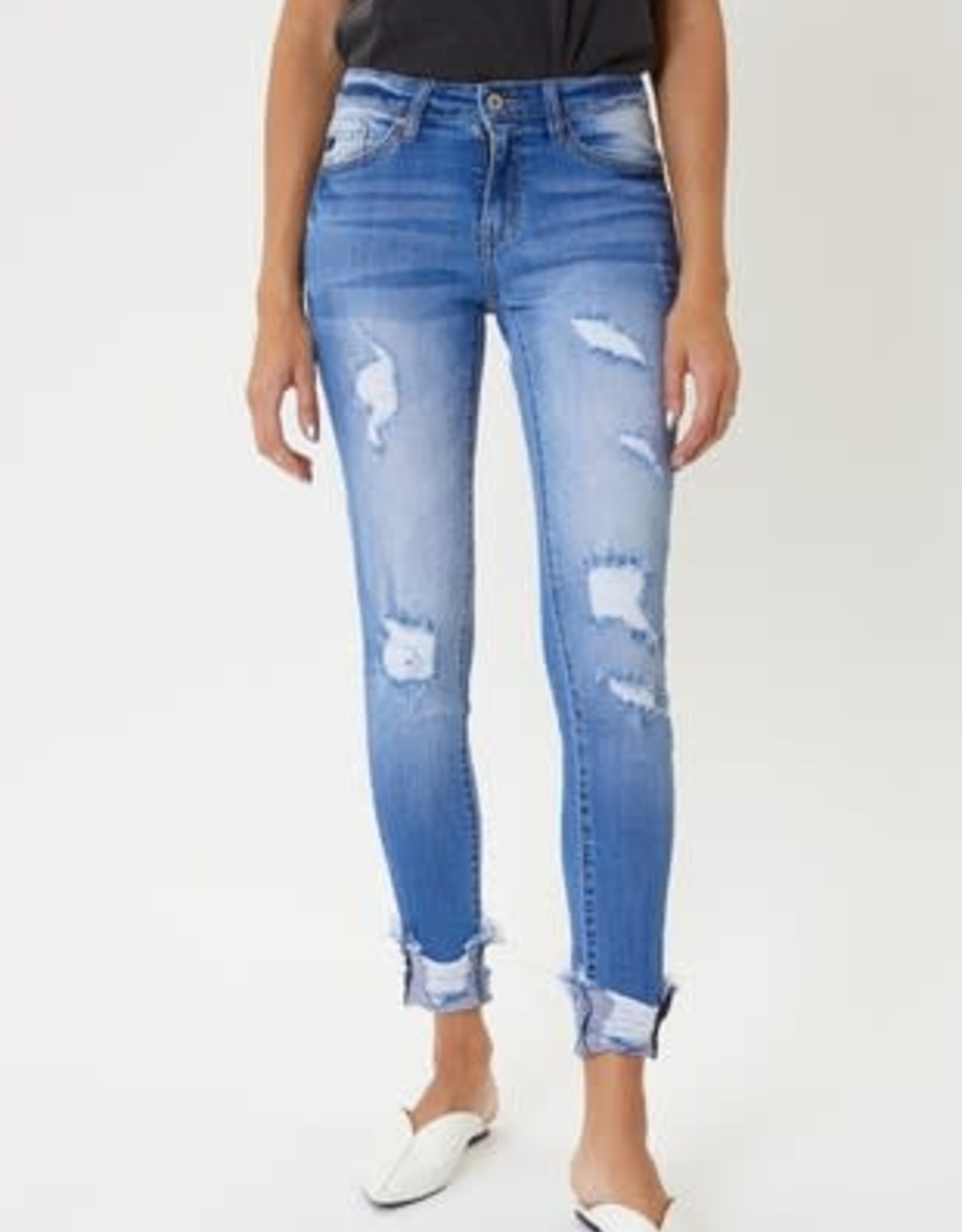 Dayla Kancan Mid Rise Skinny Jeans