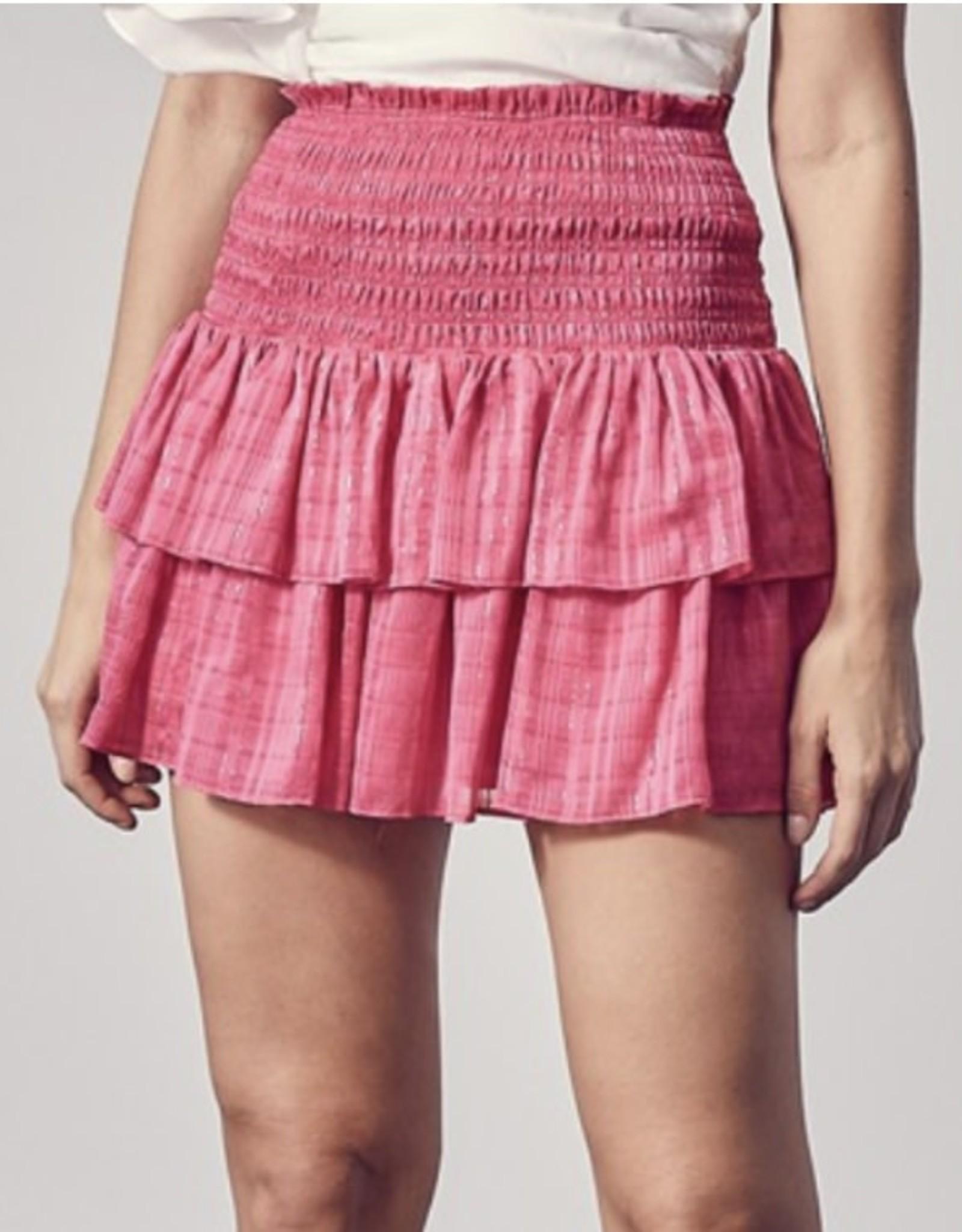 Elle Pink Ruffle Skirt