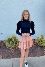 Elise Ruffle Mini Skirt