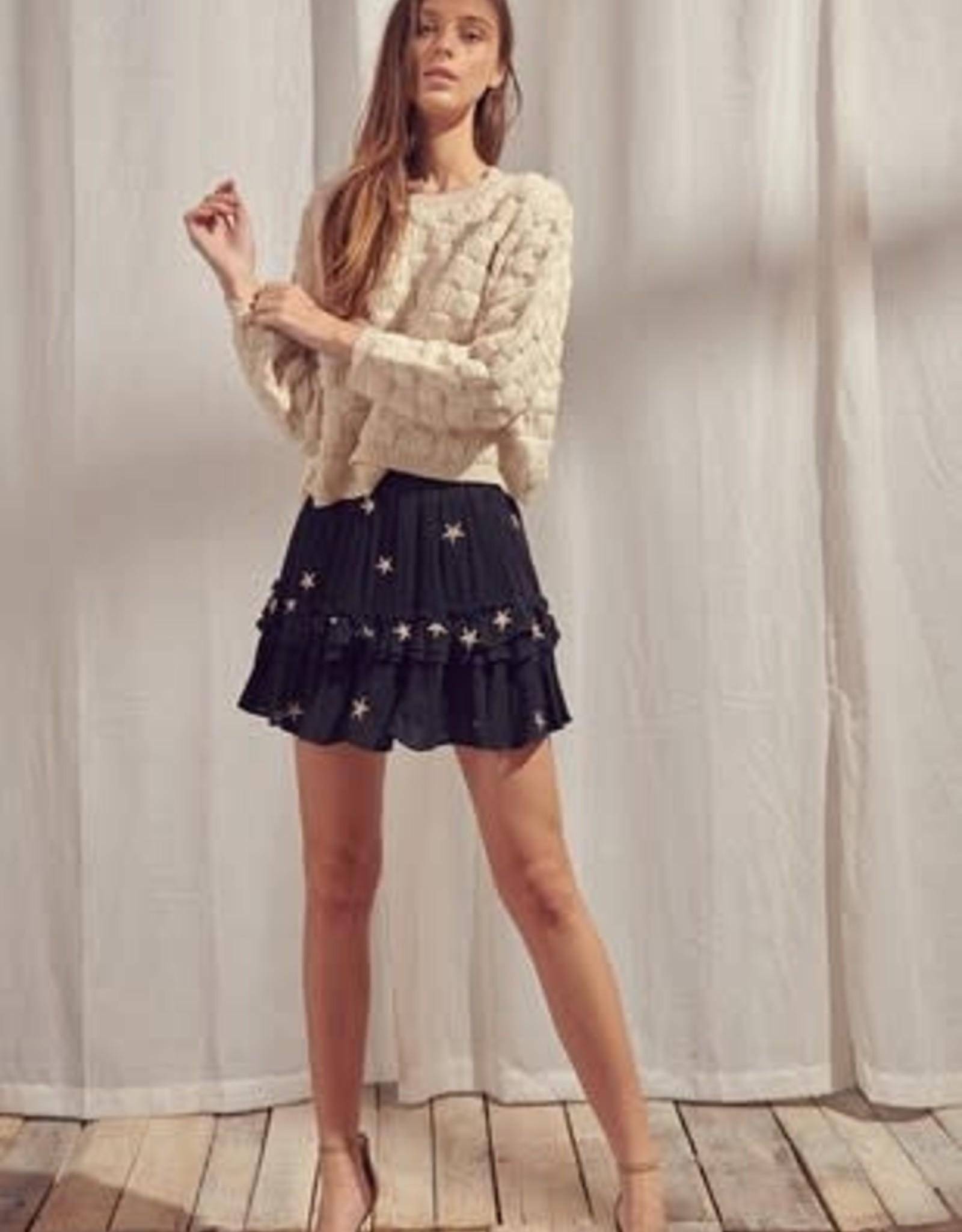 Gabby Gold Star Skirt