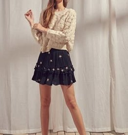 Gabby Gold Star Skirt