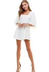 The Lexi Dress White