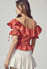 The Poppy Ruffled Top