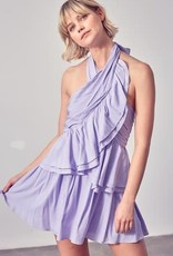 Hayden Halter Dress Lavender