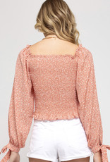 The Melody Coral Top