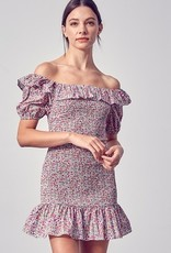 Perfect Pick Floral Smocked Dress